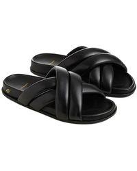 Anine Bing Lizzie slides sko - Negro