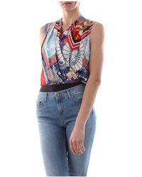 Pinko Inez Top And Body Women - Blauw
