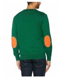 El Ganso Jersey Marca Pico para hombres con coderas Verde