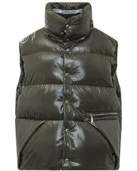 Khrisjoy Puff oversize vest - Vert