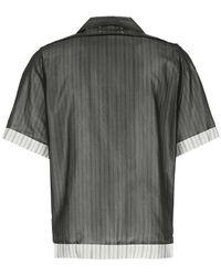 Maison Margiela Shirt Negro
