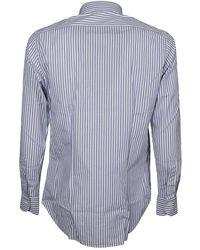 Bagutta - Shirt Azul - Lyst