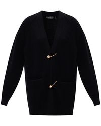 Versace - Safety Pin Cardigan - Lyst