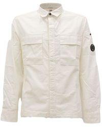 Lacoste 10Cmsh177A002824G Camicia - Bianco