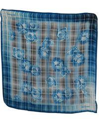 John Galliano Bandana Patterned Foulard Azul