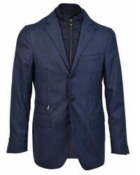 Corneliani Jacket - Bleu