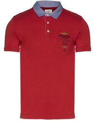 Aeronautica Militare Polo shirt - Rosso