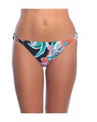 Trina Turk Bikini Bottom Tropic Wave Cali Hipster - Zwart