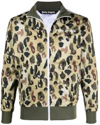 Palm Angels - Camouflage Print Jacket - Lyst