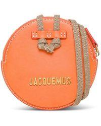 Jacquemus Portemonnee - Oranje