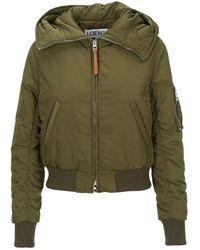 Loewe Jacket S359330xb9n - Groen