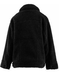 UGG Frankie sherpa trucker jacket Negro