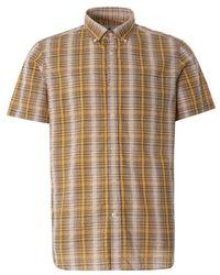 Barbour Carmet Overhemd Met Korte Mouwen - Geel