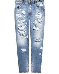 John Richmond Raw-edge jeans - Bianco