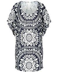 Trina Turk Beach Dress Indochine - Zwart