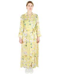 Sand Long dress - Gelb