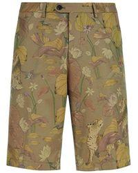Etro Bermuda Shorts - Neutre