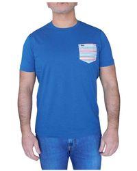 Harmont & Blaine T-shirt - Blauw