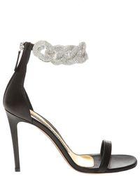 Alexandre Vauthier Elsa stiletto sandals - Noir