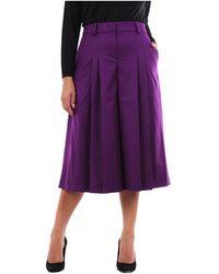 PT Torino Rg09vsndz00std bermuda trousers - Violet