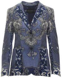 Etro Blazer - Blauw