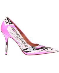 Vetements Patterned Stiletto Pumps - Roze
