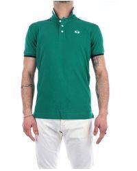 La Martina Rmp006-Pk001 Short sleeve polo - Verde