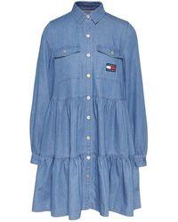 PT Torino Dress - Blauw