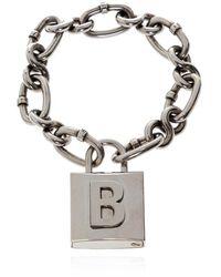 Balenciaga Chain Armband - Grijs