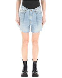 R13 Denim Shorts - Blauw