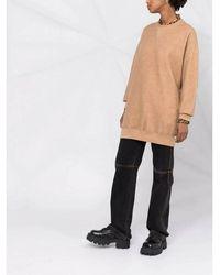 R13 Grunge Sweatshirt - Orange