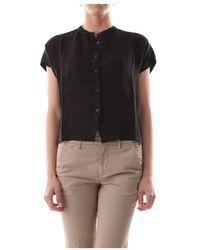 40weft Ezia 6441 Shirt - Zwart