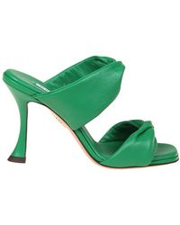 Aquazzura Twist 95 Sandals - Groen