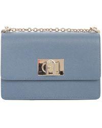 Furla 1927 mini crossbody bag - Azul