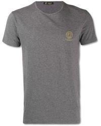 Versace Medusa Logo Undershirt - Grigio