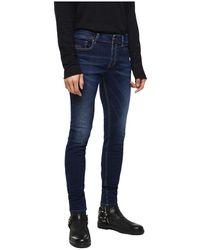 DIESEL - Sleenker 084Ri Jeans Men Denim Dark Blue - Lyst