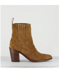 Sartore Cowboy boot - Marrone