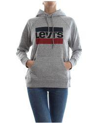 Levi's 35946 Graphic Sport Hoodie - Grijs