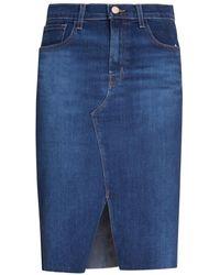 Ermanno Scervino Skirt - Blauw