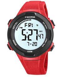 Calypso St. Barth Watch Ur - K5780_5 - Rood