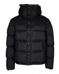 Burberry Lockwell Down Jacket - Zwart