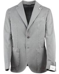 Luigi Bianchi Mantova Jacket 2837 95830 - Gris