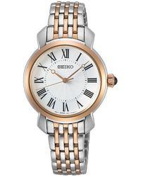 Seiko Classic Watch - Wit