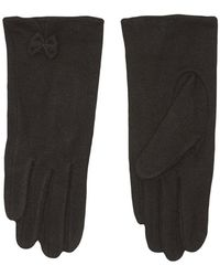 Numph Angeline Wooven Gloves Numph - Zwart