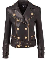 Balmain - Biker Jacket - Lyst