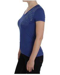 Ermanno Scervino T-shirt Azul
