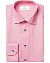 Eton Shirt - Roze