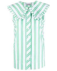 Ganni Shirt - Groen