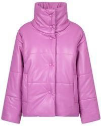 Nanushka Padded Jacket - Roze