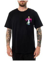Stussy T-Shirt Psychedelic - Noir